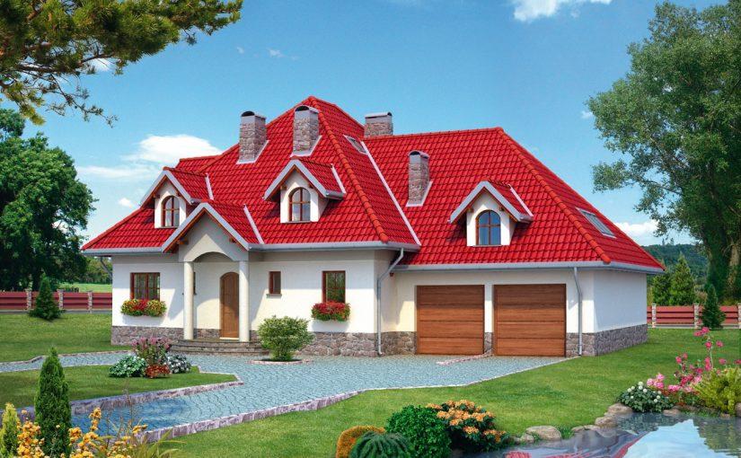 Dom z wielkim ogrodem, oczkiem wodnym i nawadnianiem automatycznym